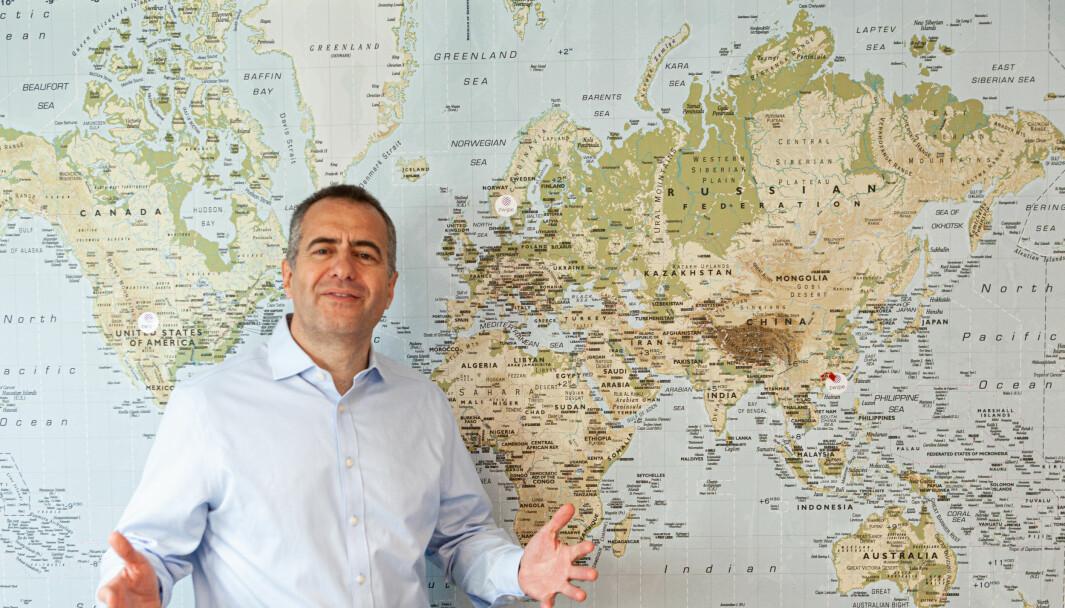 André Løvestam, daglig leder i Zwipe er klar for å legge verden for sine føtter.