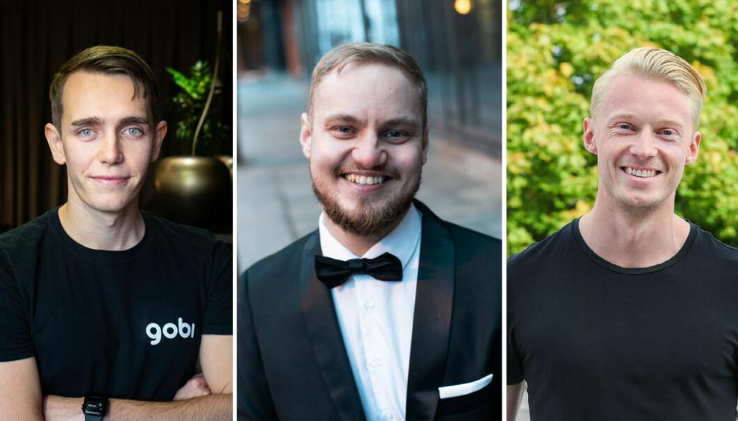 Kristoffer Lande, Jonas Bjørheim og Eirik Nerdal startet å investere i startups allerede som studenter