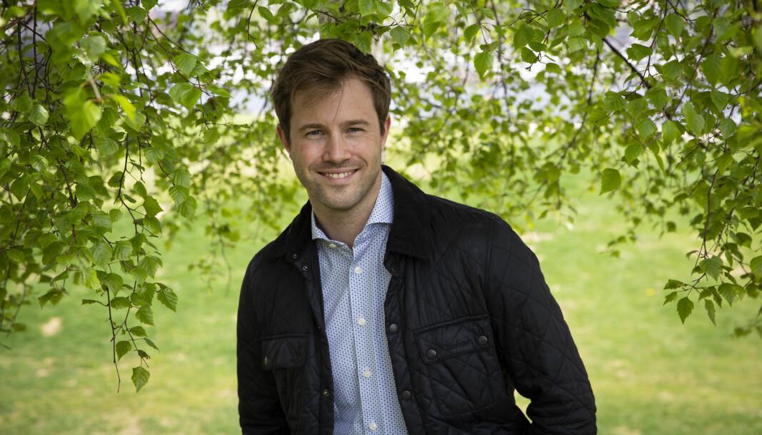 Robert Ekrem i Völur smiler godt nå som selskapet har fått kapital til å satse internasjonalt.