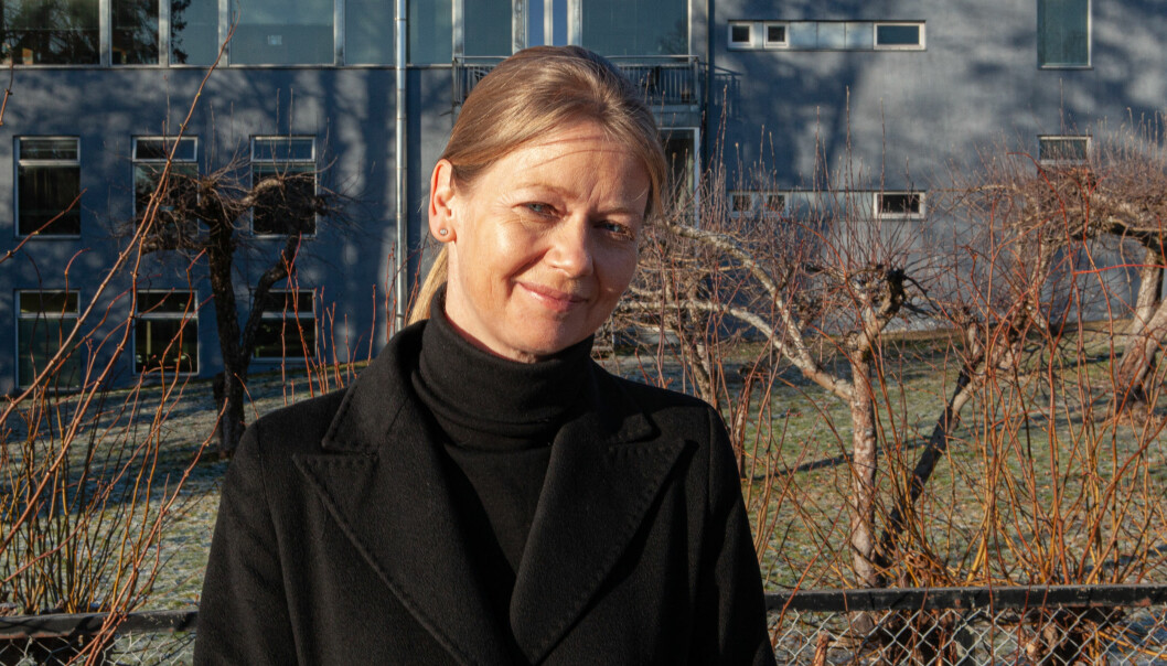 'Visesentralbanksjef Ida Wolden Bache la torsdag frem den årlige rapporten om Norges finansielle infrastruktur.
