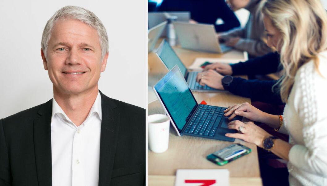 Stacc-leder Geir Nordrik gleder seg over et langsiktig samarbeid med Innovasjon Norge.