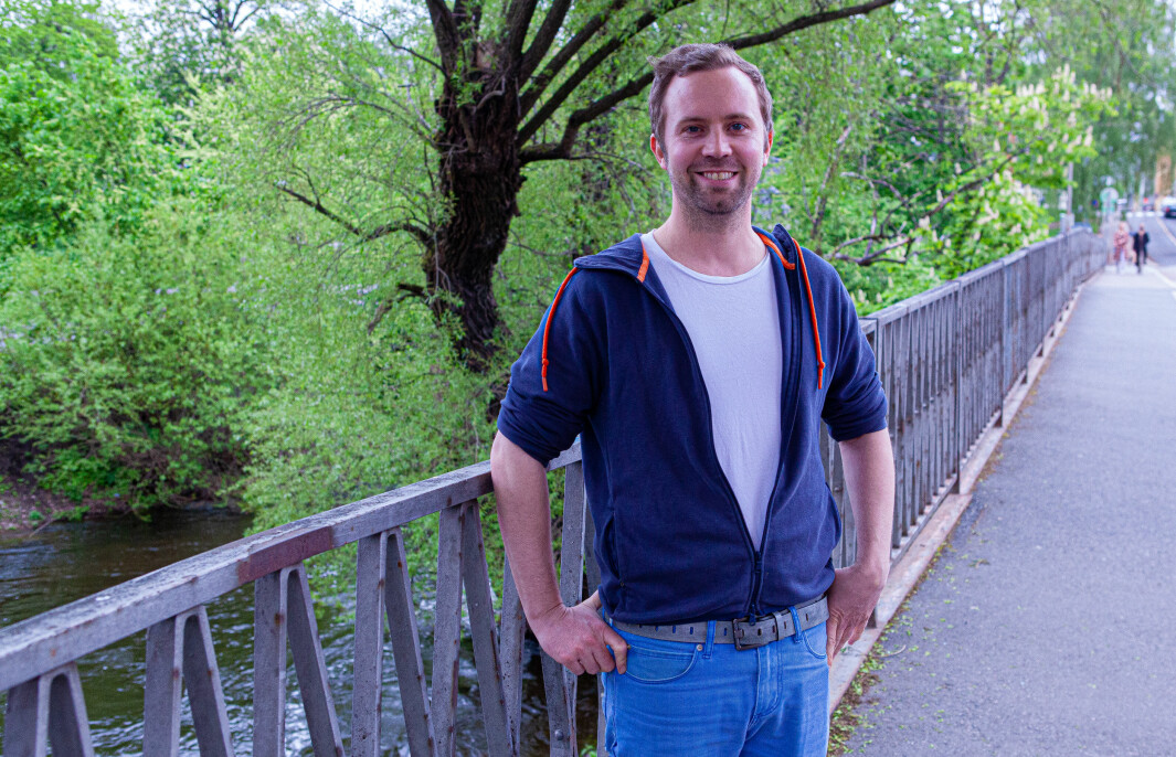Andreas Mjelde, daglig leder i Tillit.