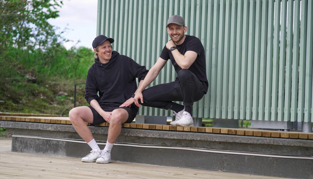 Lasse Brurok (t.v.) og Arne-Morten Willumsen i Bookis.
