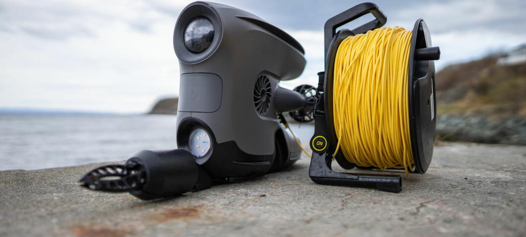 Blueye nærmer seg pluss og bryter vannskorpa med ny drone: London-politiet har allerede bestilt