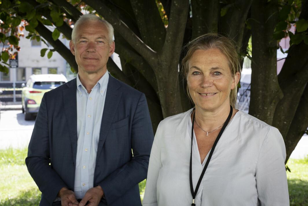 Sverre Thornes og KLP er allerede den største bidragsyteren i Sintefs siste fond. Han og Sintef-sjef Alexandra Bech Gjørv forteller nå at de vil utvide samarbeidet.