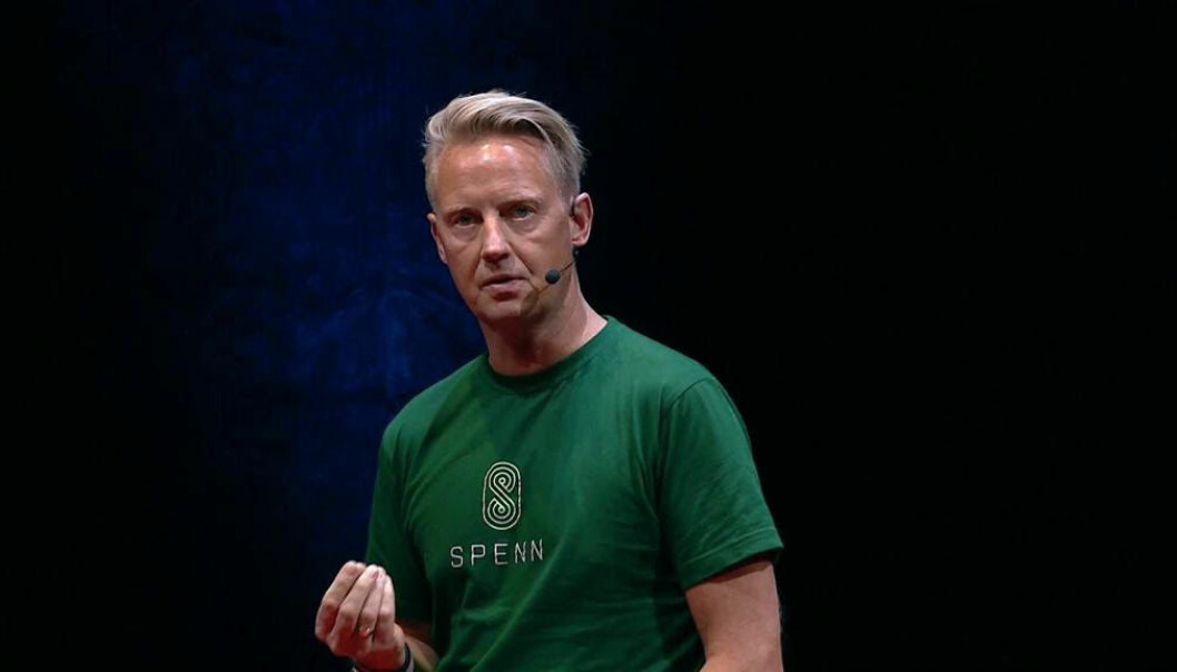 Jens Glasø, daglig leder i Spenn kan glede seg over suksess i Mastercards Lighthouse-program