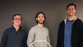 Studentene brukte pandemien til å starte droneselskap for frakt av biologiske prøver