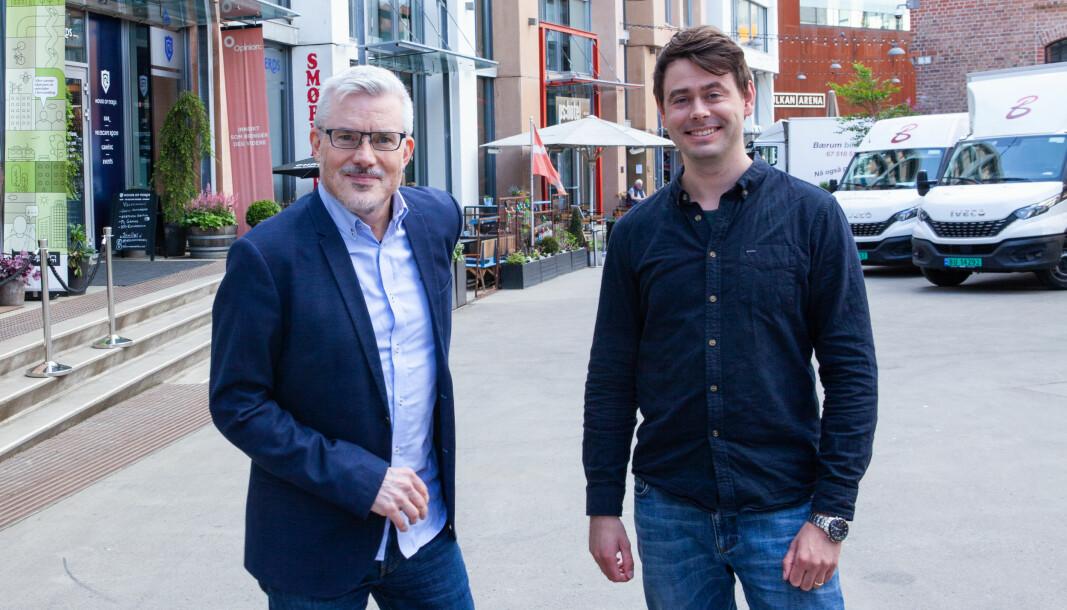 Abendum-duoen Stefan Nilsson og Torje Sunde har et syn på bitcoin og mulighetene med blokkjede som skiller seg fra det man kan lese til daglig.