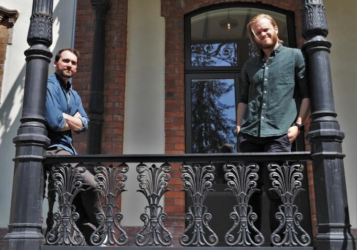 F.v. CFO Jeremy Gerst og CEO Magnus Wanberg i Remarkable.