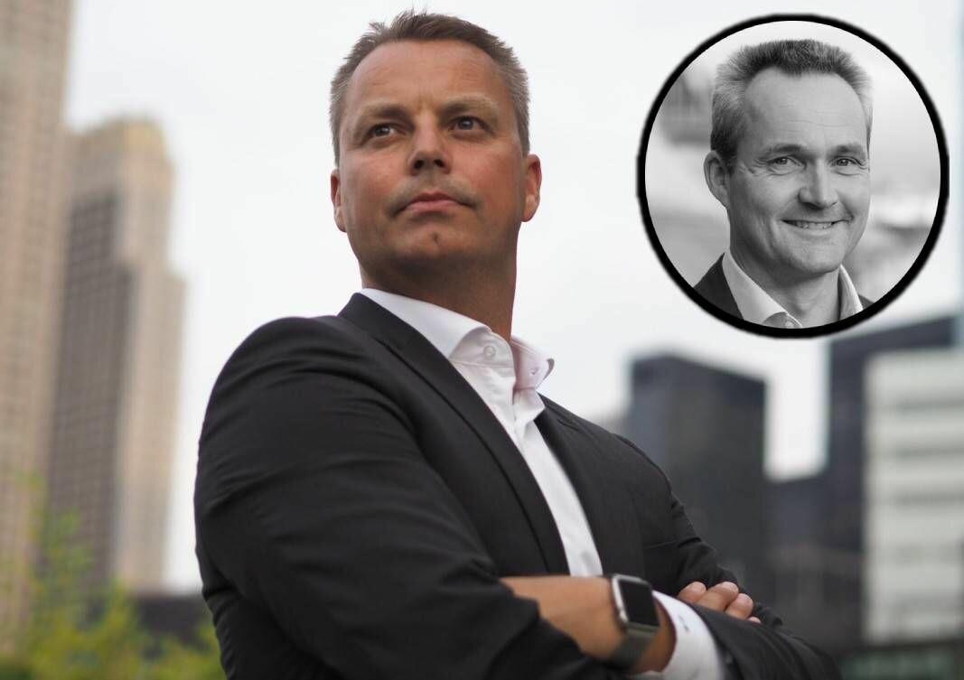 24SevenOffice-gründer Stian Rustad er skuffet over utfallet av generalforsamlingen i Optin Bank. Bankens daglige leder, Erling Astrup, er innfelt.