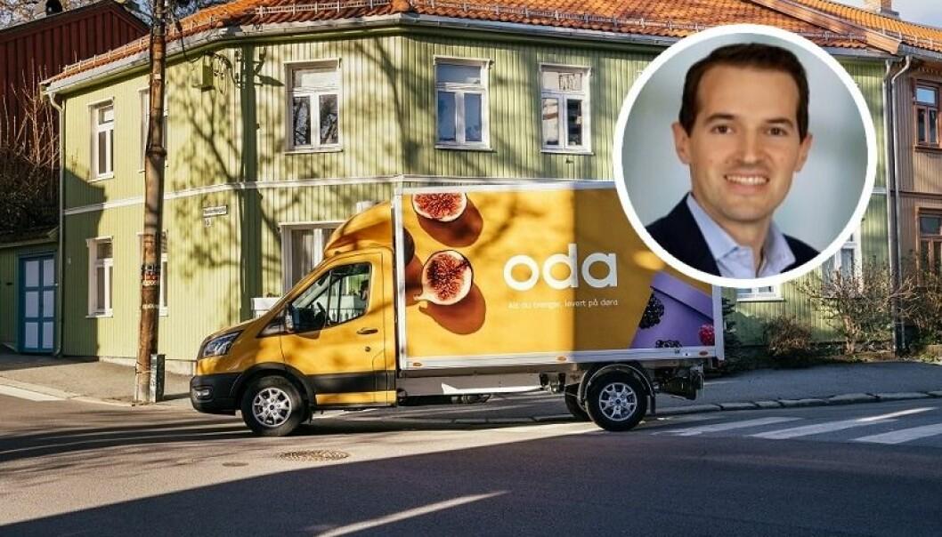 Malte Nousch (innfelt) blir ny sjef for Oda i Tyskland.