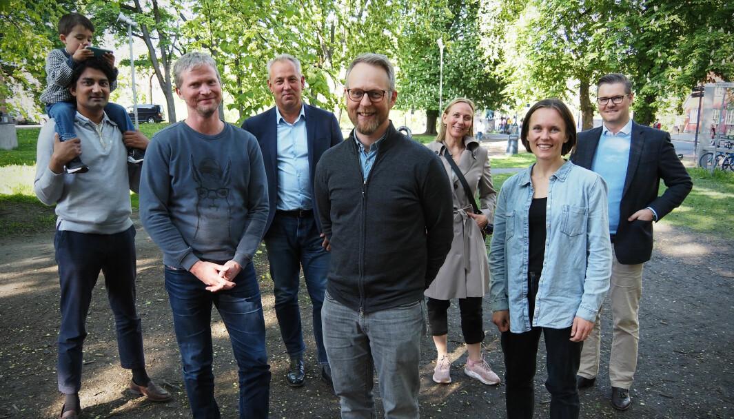 Erik Harstad har samlet et stjernelag til sitt nye selskap Visonomic.