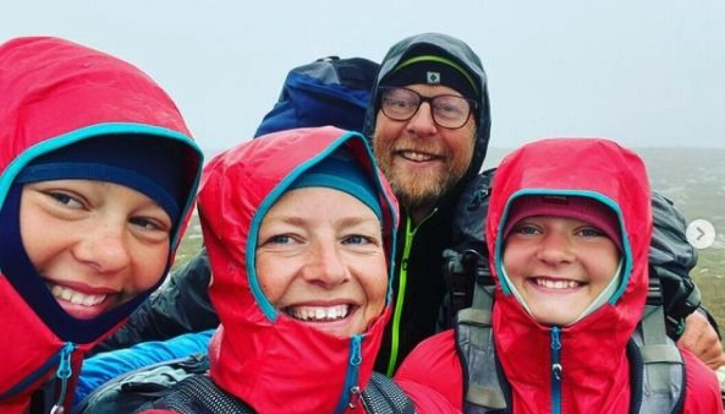 Familien Harstad Fostervoll gikk i fjor sommer Norge på tvers; fra Batnfjordsøra til svenskegrensa.