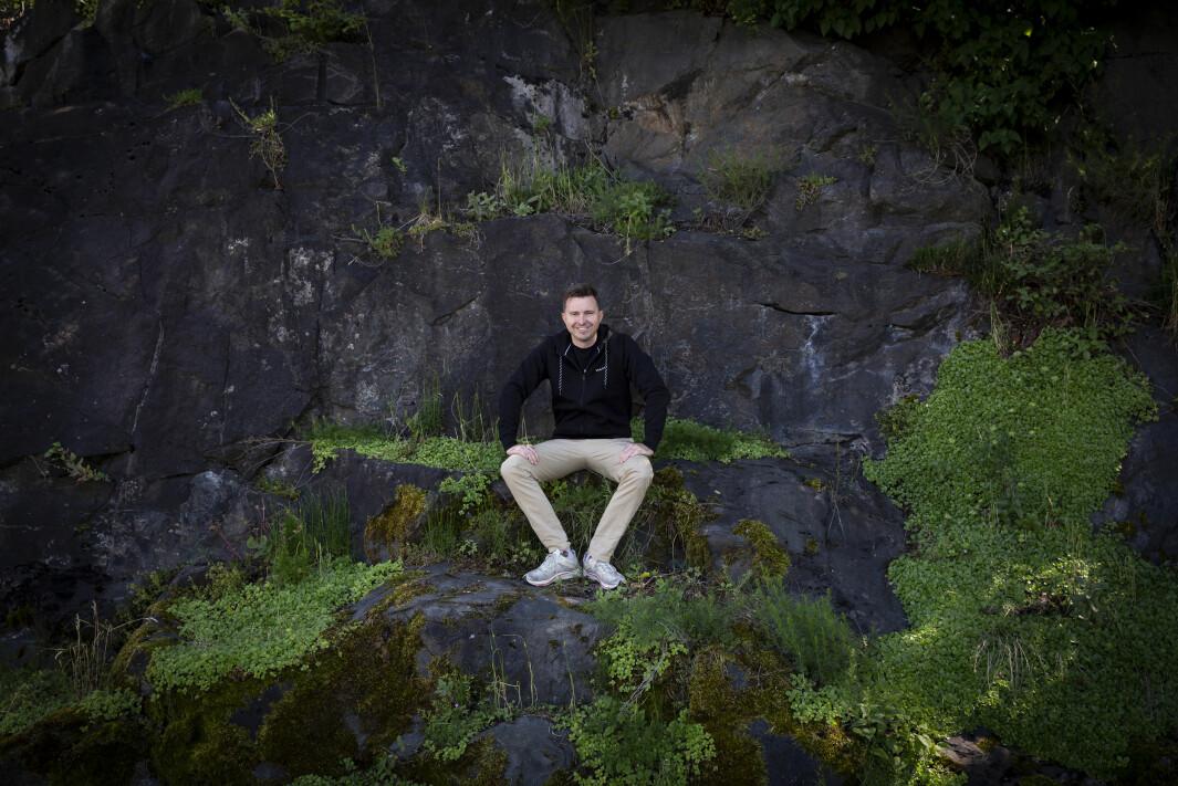 CEO Aleksander Langmyhr i Dimension10 får aksjer i Varjo.