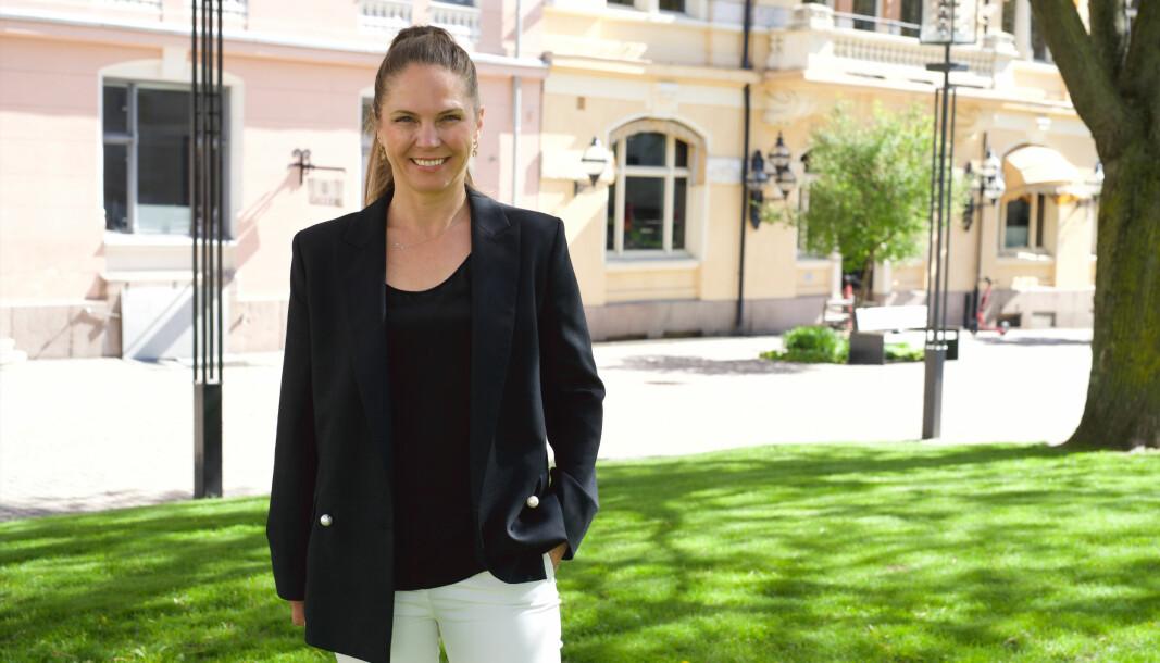 Linn-Cecilie Linnemann er gründer og CEO i Design Container, jobber som kommunikasjonsdirektør i investeringsselskapet Katapult, og investerer i startups.