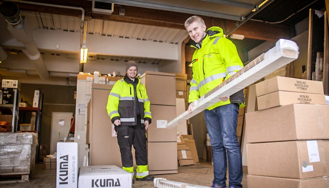 Kim Iversen (i front) etablerte Zendera i 2017. Nå teller selskapet 12 ansatte.