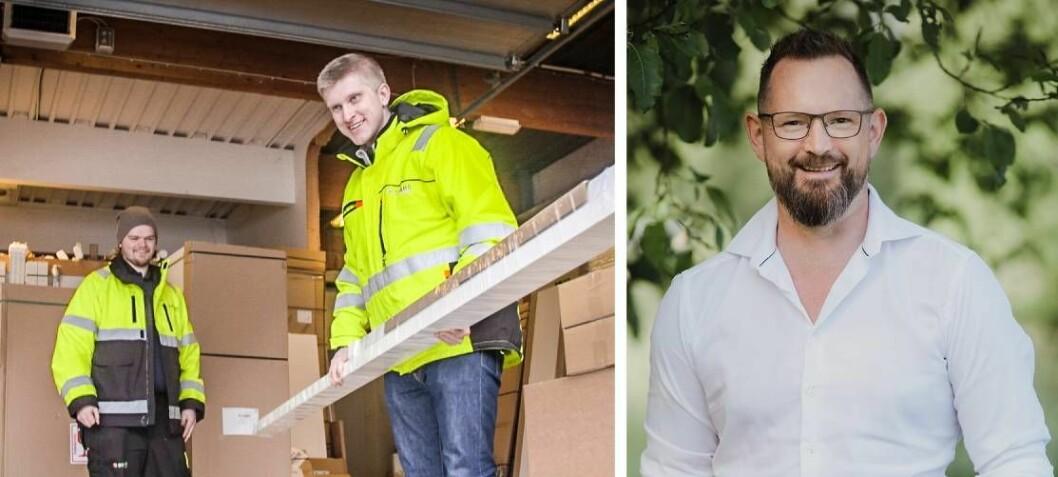 Lastebil-eier Ståle Bjørdal var på utkikk etter et nytt transportsystem til bilene. Det gjorde ham til en startup-investor