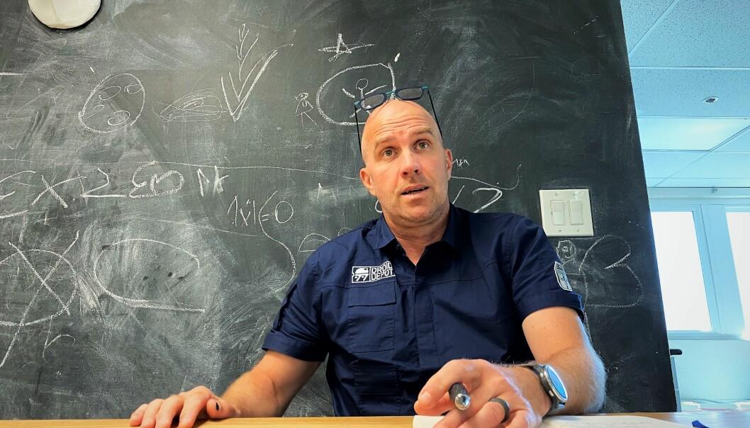 Alexander Bergo er tidligere forsker og gründer.