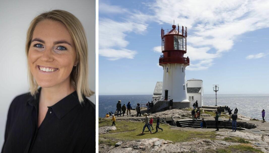 Linn Jeanette Kalvik Stabell flyttet fra Stavanger til Mandal før sommeren.