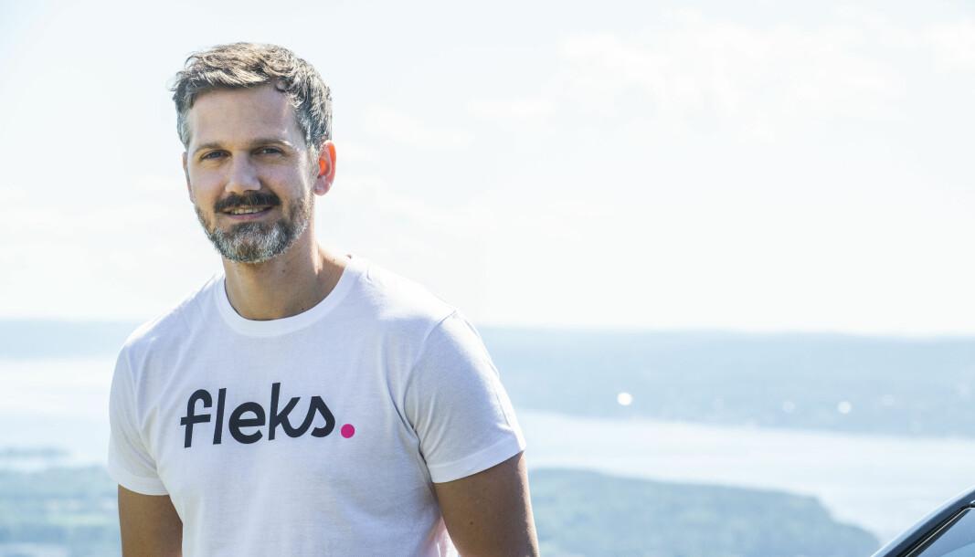 Daglig leder og gründer i Fleks, Petter Kjøs Utengen.