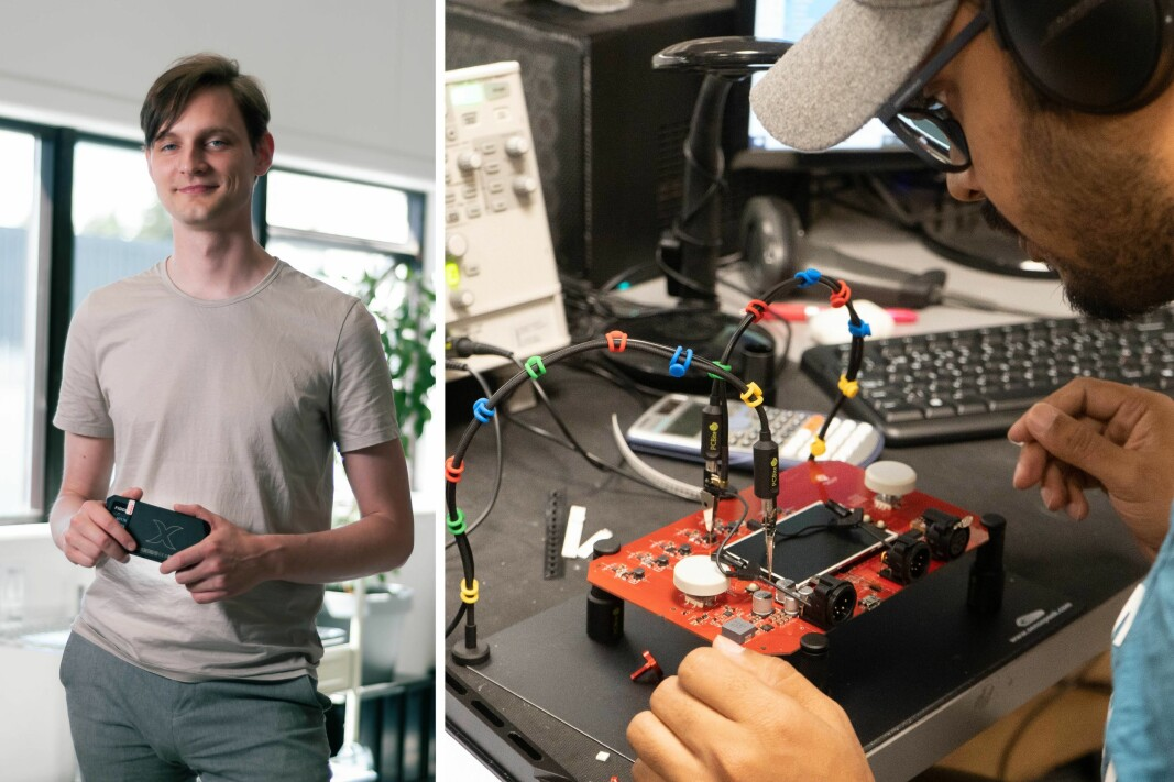 Daglig leder Halvard Aagaard i Rift Labs vil femdoble staben på fem år.