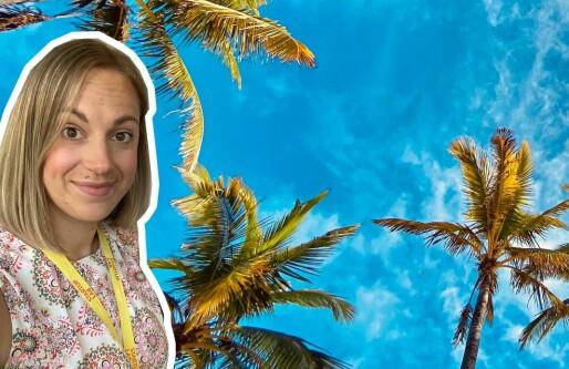 Stine Sofie Grindheim: Dropper kryptovaluta og handler på Kiwi