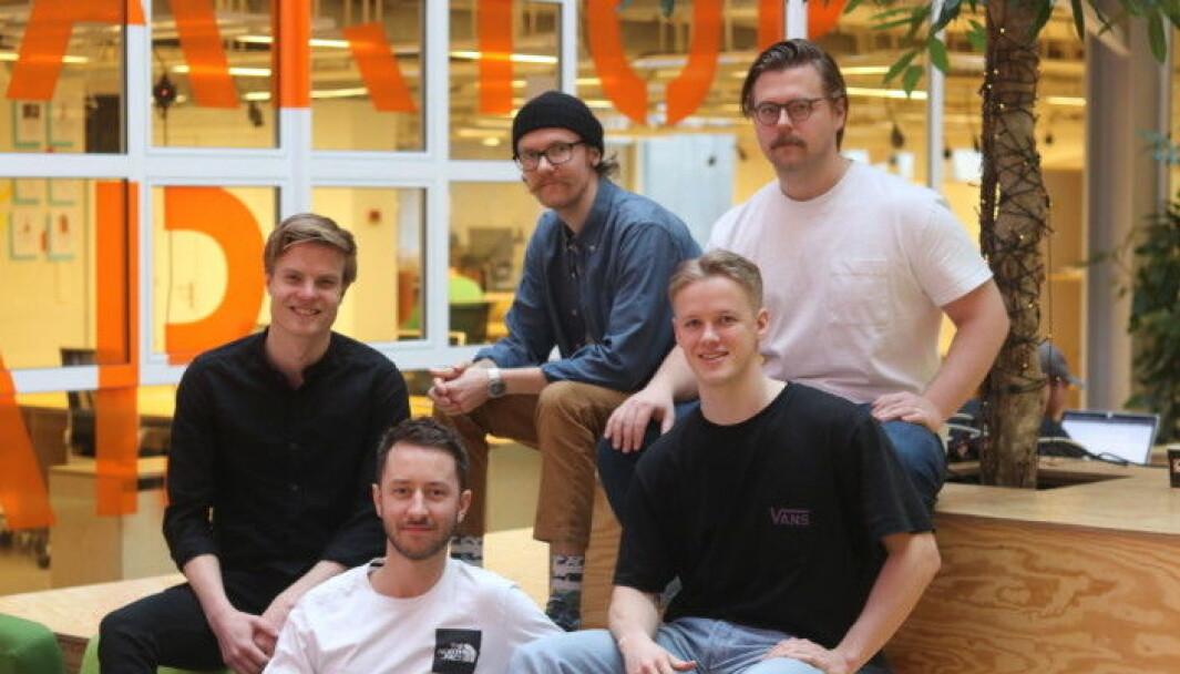 Tillit har seks ansatte og holder hus på StartupLab i Oslo Martin Hall Larsen