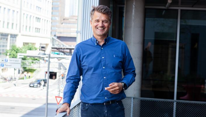 Rune Garborg vil fryktelig gjerne komme i gang med sammenslåingen av de nordiske lommebøkene. Men han er forberedt på at det vil ta tid før det nye Vipps er blitt godkjent.