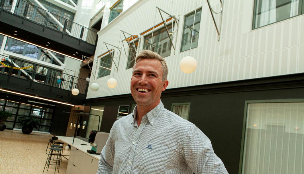 Sebastian Harung, daglig leder i Kameo har all anledning til å være fornøyd med 2021.