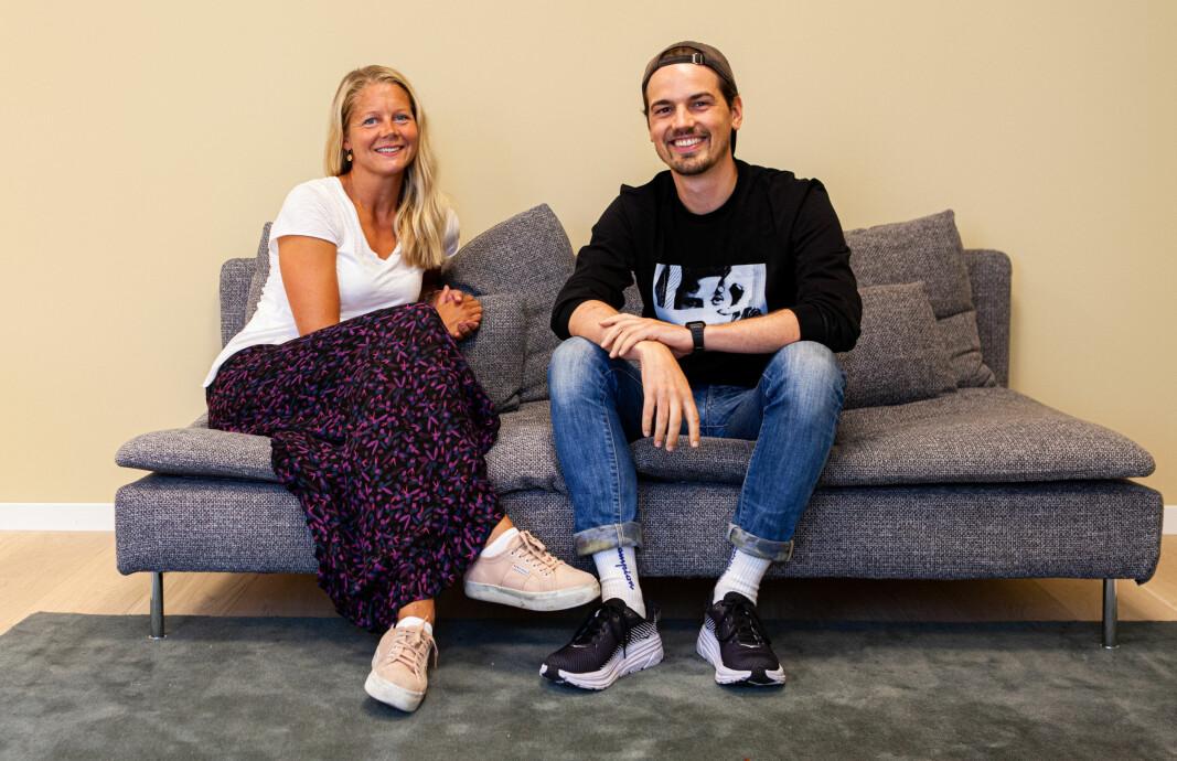 Kron har i løpet av første halvår doblet antallet ansatte. Når gjør daglig leder Emma Tryti og teknologisjef Herman Schistad seg klare for å utvide staben ytterligere.