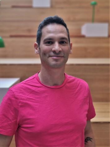 Israelske Avi Latner er én av tre medgründere og produktsjef i Sloyd.
