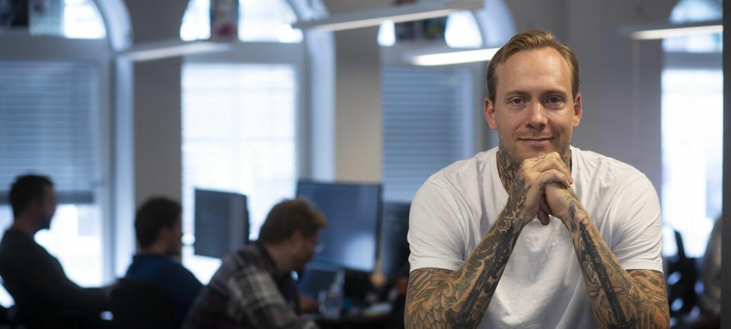 Investorene var skeptiske til tatovering-startupen: Så fortalte han dem noe som fikk dem gira