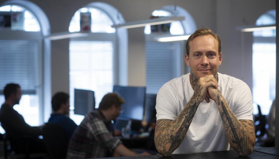 Gründer og daglig leder Kai Robin Ree i Linework.