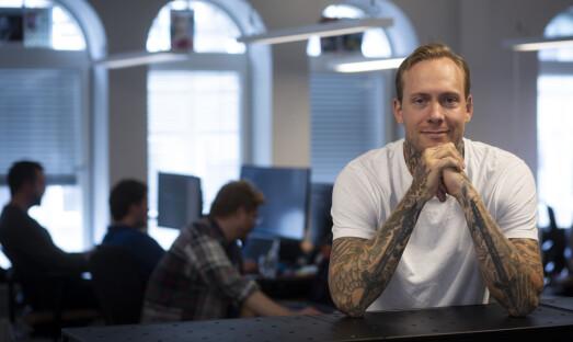 Investorene var skeptiske, men selv visste tatoveringsgründeren at han satt på et kjempemarked