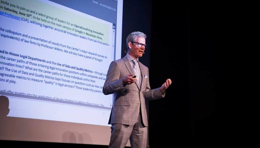 Knut-Magnar Aanestad, tidliger innovasjonsdirektør i Kluge. Nå medgründer i en legaltech-startup.