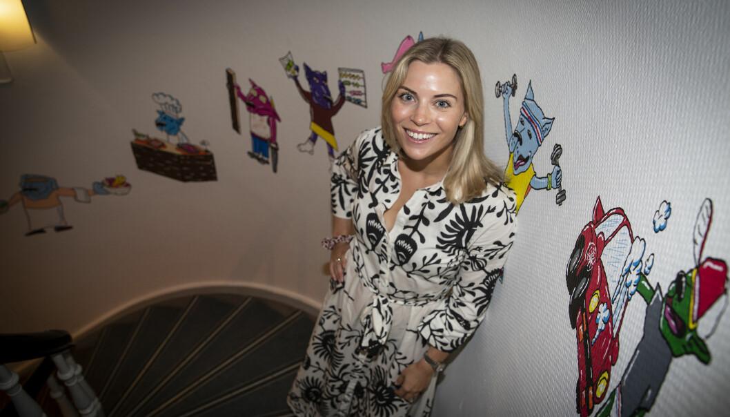 Linn Nærup Børke, ny daglig leder i Askeladden & Co, startet i selskapet sommeren 2018.