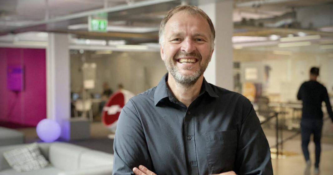 Administrerende direktør Per Einar Dybvik i StartupLab.