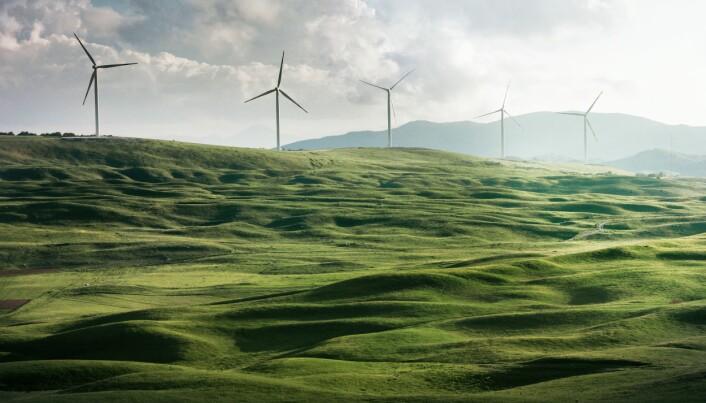 """<span class="""" italic"""" data-lab-italic_desktop=""""italic"""">GRØNN ENERGI: Fornybar energi skaper fantastiske muligheter, men når vi blir avhengige av vær og vind blir tilgangen på energi mer uforutsigbar.</span>"""