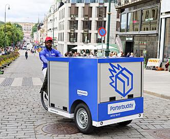 Drar inn millioner på hjemlevering: Bytter ut flere biler med elektriske lastesykler for å bli enda kjappere