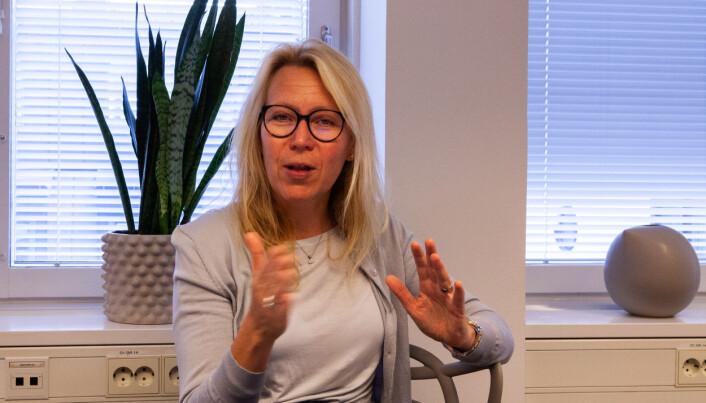 Da Marit Bø Bornstein begynte i Invidem hadde selskapet under ti ansatte og alle på hjemmekontor. I dag er de 40 på grunn av pandemin har hun ikke hatt mulighet til å møte alle.
