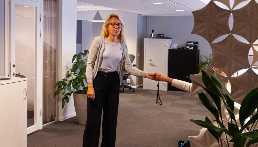 Marit Bø Bornstein mener hun leder en startup, backet av meget solide eiere.