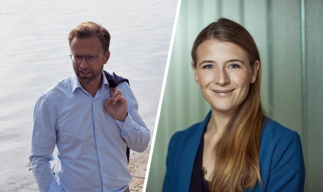 Nikolai Astrup har kanontroa på at Startoff-programmet hans kan bidra til en mer gründervennlig anskaffelseskultur i staten. Da må vilkårene forandres, mener Simula-topp Ranveig Strøm.