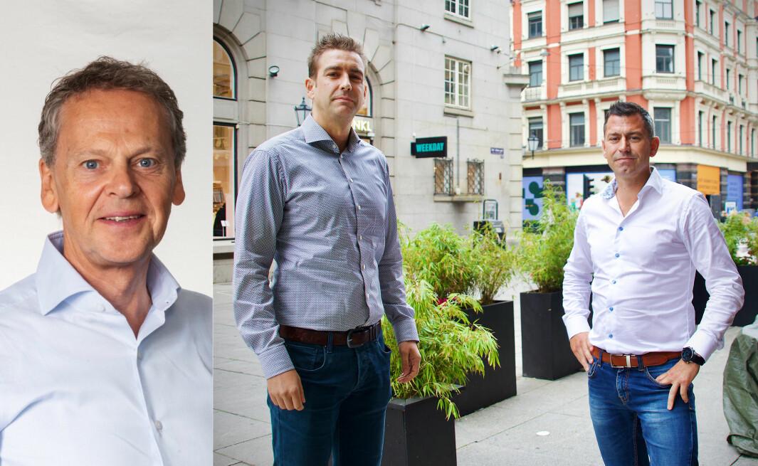 Dag Honningsvåg og 99X kjøper opp Seeds Consulting, med gründerne Jo Henrik Endrerud og Steinar Magnussen.