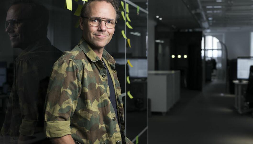 Emil Sunvisson, gründer og adm.dir. i det svenske fintech-selskapet Qred