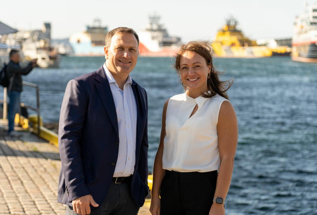Erik Hannisdal og Sanna Lutsoja står bak GAIA, en internasjonal salgsutviklingsplattform for teknologileverandører.