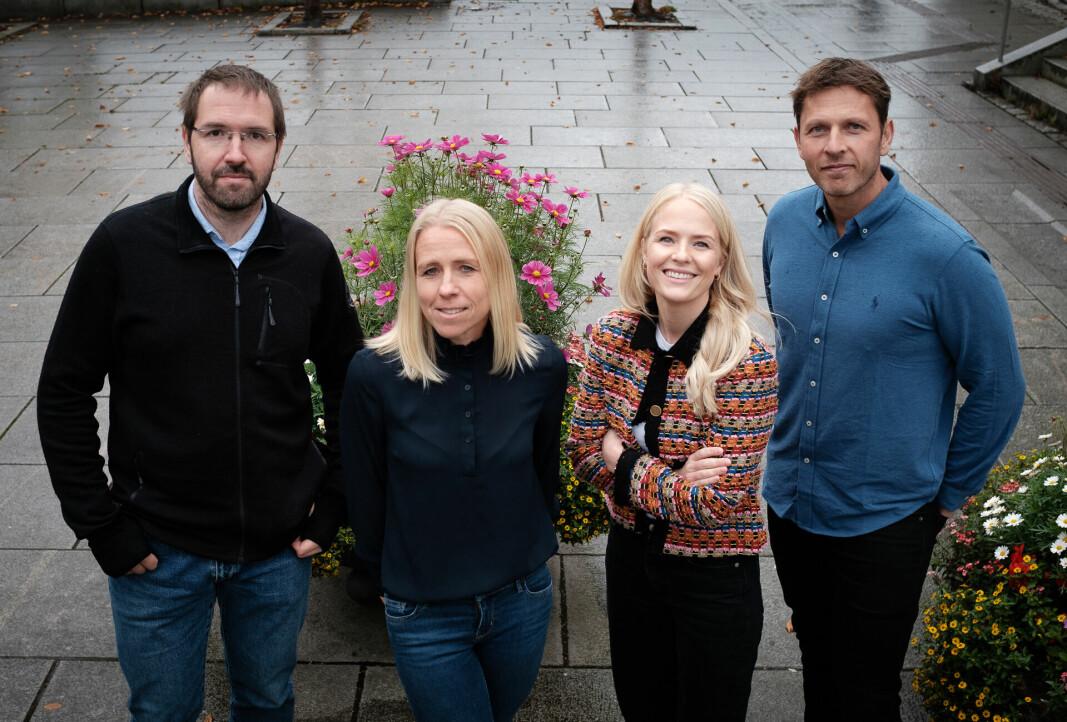 Alexey Stepanov, Trine M. Seeberg, Susanne Ludvigsen, Espen Westgaard.