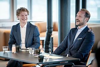 Bildeserie: Disse var på Kronprinsens møte med startup-Norge