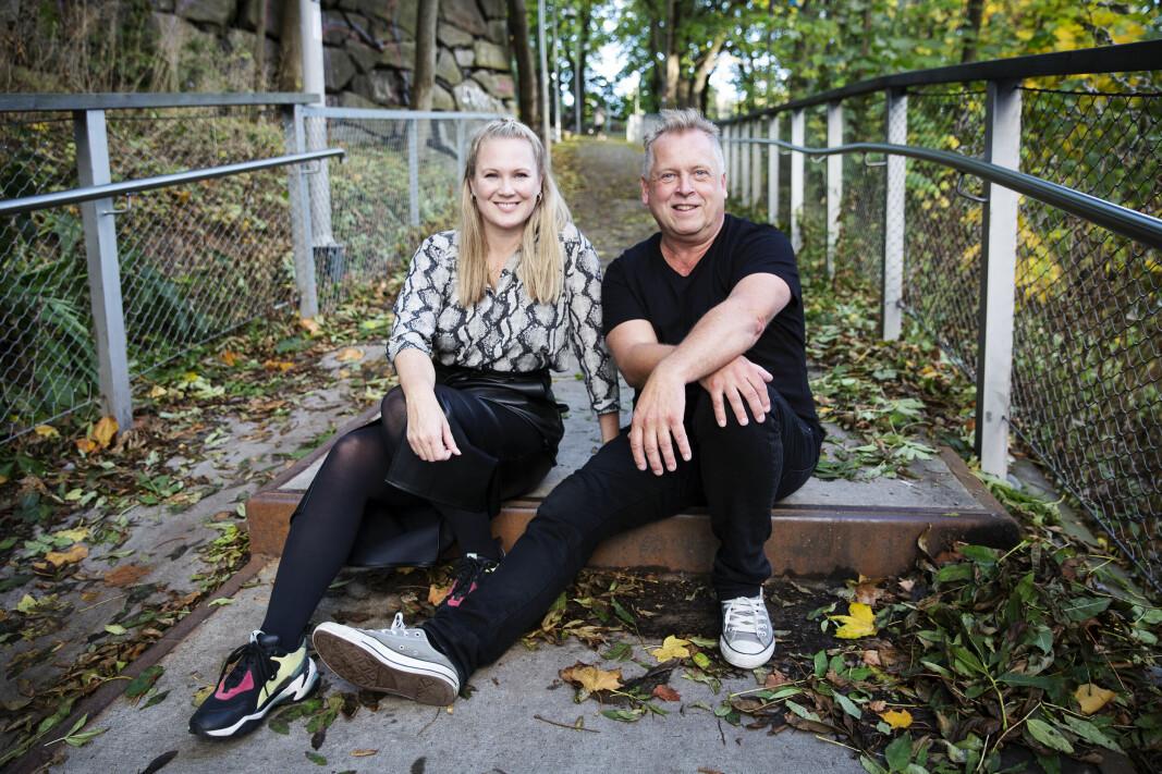 Kimberly Larsen og Lasse Andresen i Indyriot.