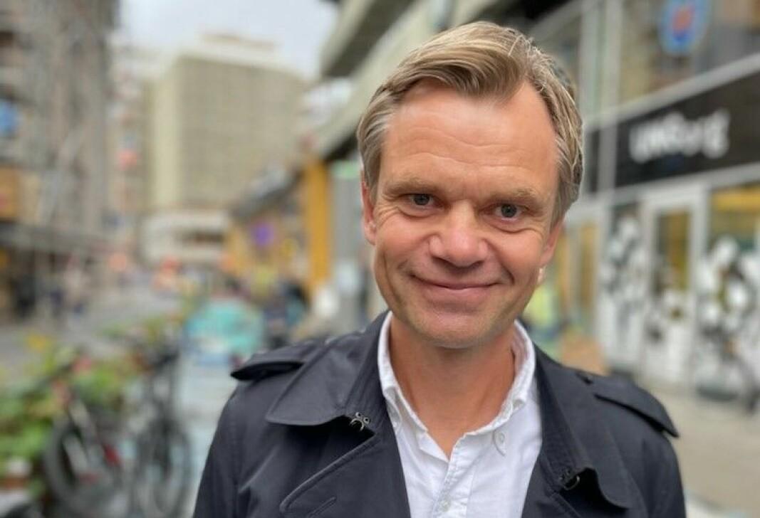 Daglig leder og medgründer i Carrot, tidligere WasteIQ, Tore Totland.