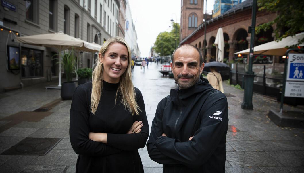 Sara Rywe og Eric Lagier i Byfounders.